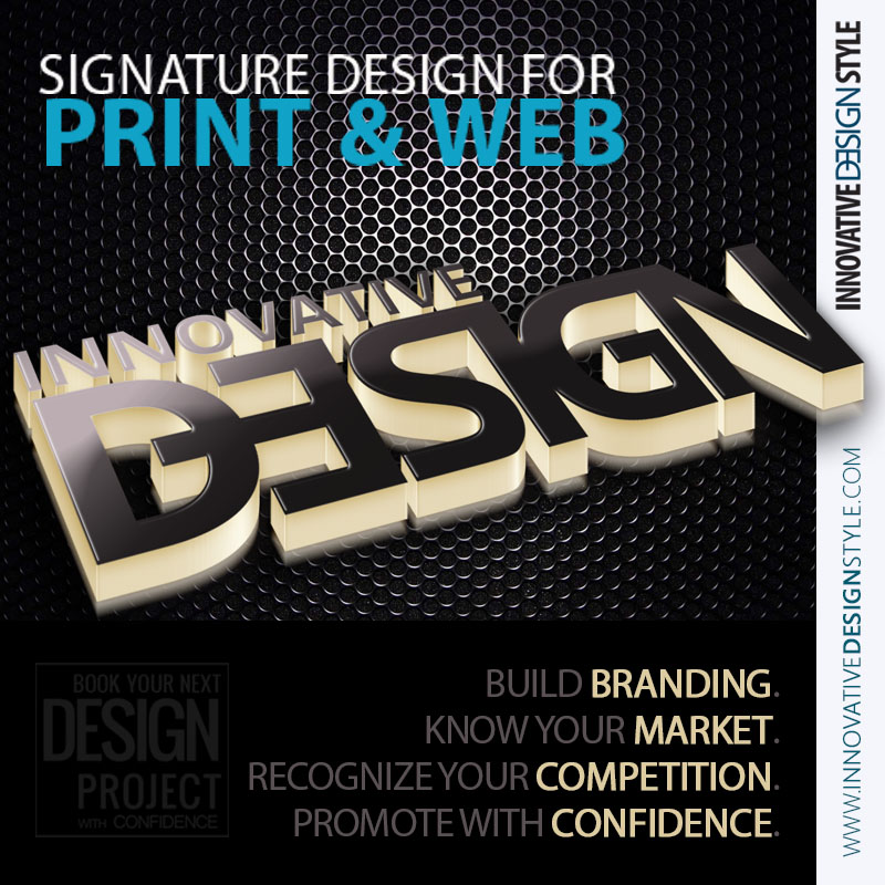 Signature Design For Print & Web